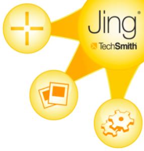 Rozwijany pasek programu Jing