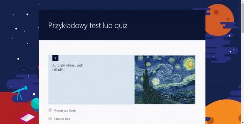 Przykładowy quiz